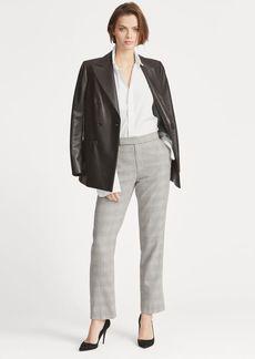 Ralph Lauren Glen Plaid Tweed Straight Pant
