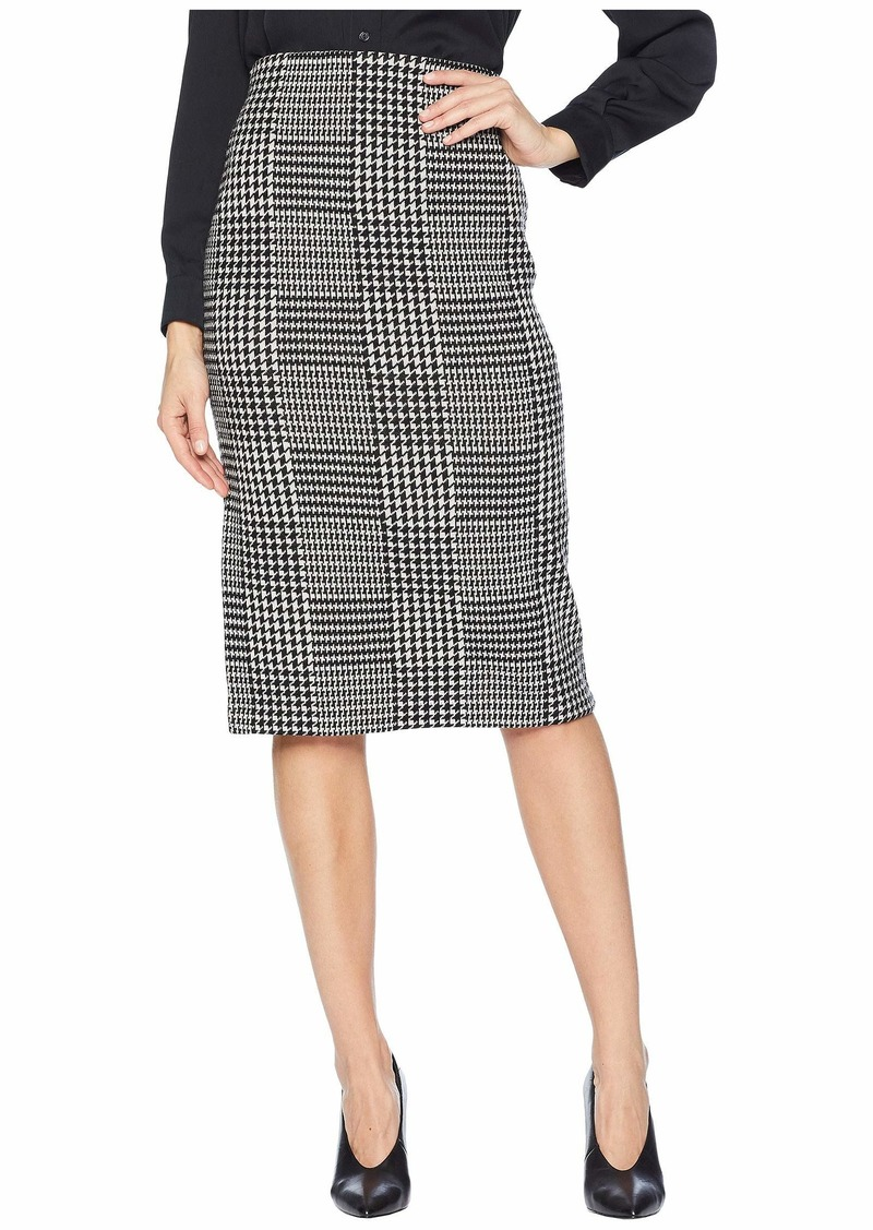 Ralph Lauren Glen Plaid Wool Pencil Skirt
