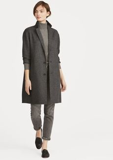 Ralph Lauren Glen Plaid Wool Trench