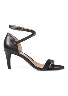 Ralph Lauren Glinda Leather Sandal