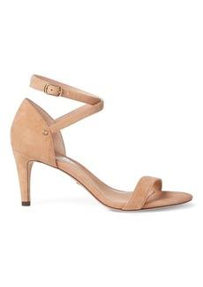 Ralph Lauren Glinda Suede Sandal