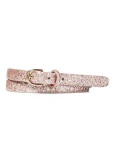 Ralph Lauren Glitter Skinny Belt