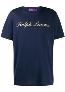 Ralph Lauren gold logo printed T-shirt