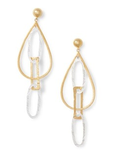 Ralph Lauren Gold-Plated-Brass Earrings
