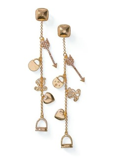 Ralph Lauren Gold-Plated Charm Earrings