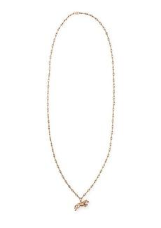 Ralph Lauren Gold-Plated Horse Necklace