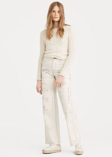 Ralph Lauren Graffiti Wide-Leg Pant