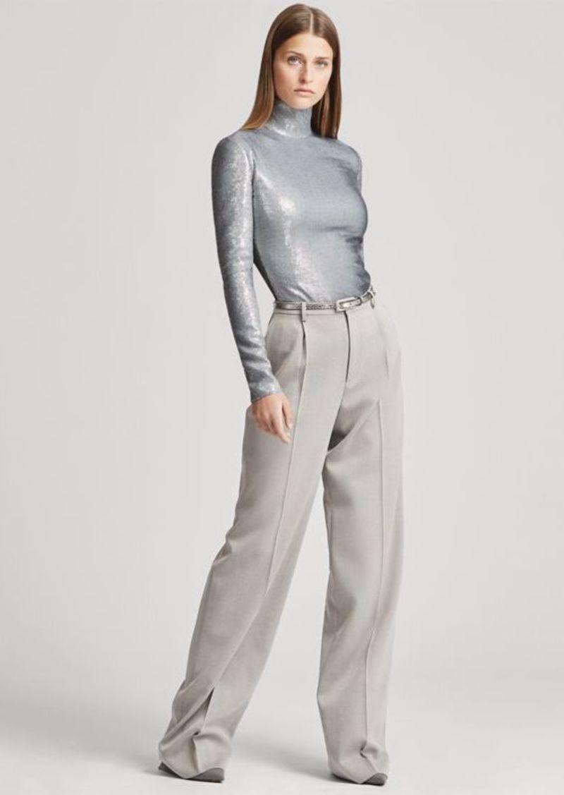 Ralph Lauren Grafton Covert Wool Trouser