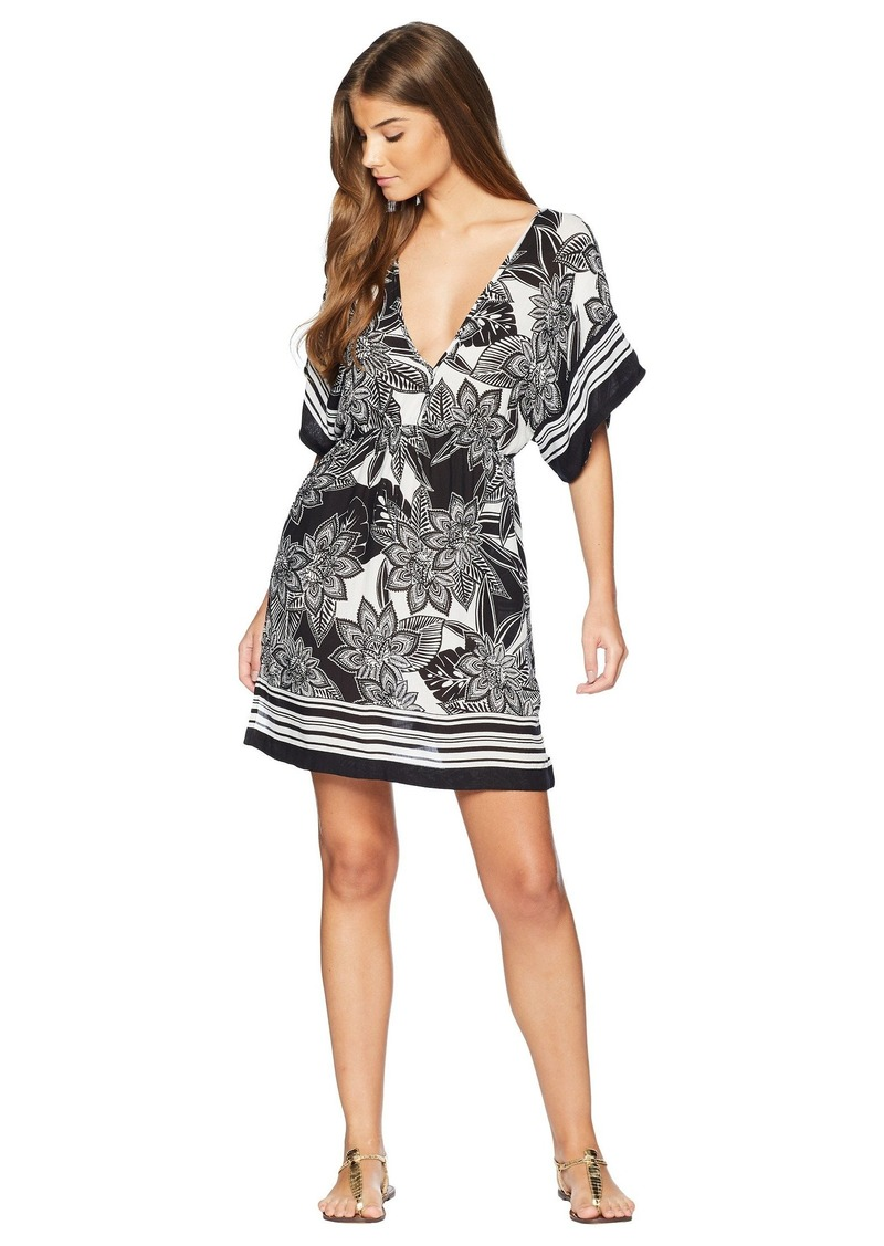 Ralph Lauren Graphic Floral Printed Tunic Cover-Up