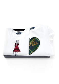 Ralph Lauren Graphic Tee 2-Piece Gift Set