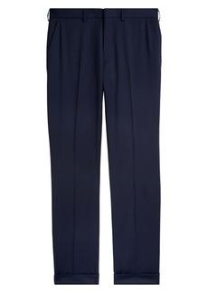 Ralph Lauren Greg Flat-Front Wool Pants