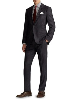 Ralph Lauren Greg Pinstripe Wool Suit