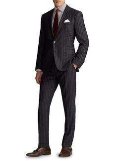 Ralph Lauren Greg Pinstripe Wool Suit