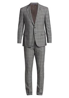Ralph Lauren Greg Two-Button Plaid Wool Suit