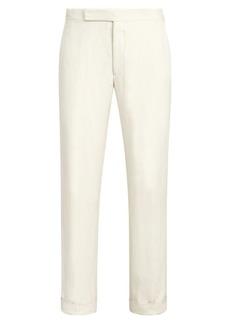 Ralph Lauren Gregory Linen & Silk Trousers