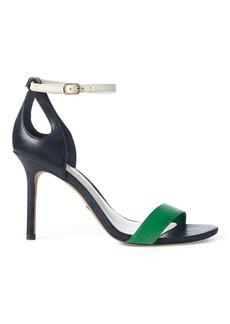 Ralph Lauren Gretchin Leather Sandal