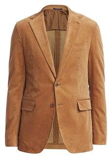 Ralph Lauren Hadley Two-Button Corduroy Jacket