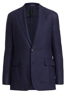 Ralph Lauren Hadley Two-Button Jacket