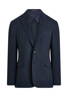 Ralph Lauren Hadley Wool Notch Lapel Blazer