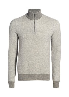 Ralph Lauren Half-Zip Cashmere Sweater