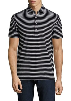 Ralph Lauren Hampton Striped Cotton Shirt