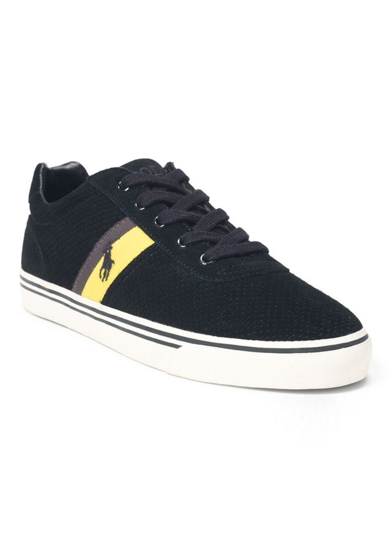Ralph Lauren Hanford Perforated Sneaker