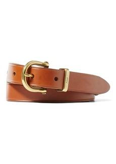 Ralph Lauren Harness Leather Belt