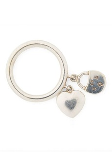 Ralph Lauren Heart-Lock Charm Ring