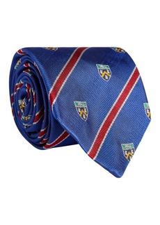 Ralph Lauren Heraldic Clubs Chevron Silk Tie