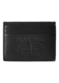 Ralph Lauren Heritage Full-Grain Card Case