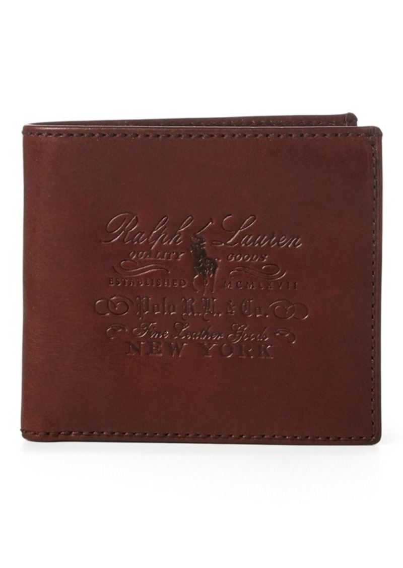 Ralph Lauren Heritage Full-Grain Wallet