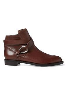 Ralph Lauren Hermione Leather Bootie