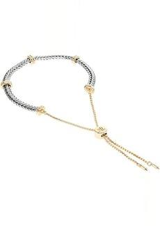 Ralph Lauren Herringbone Adjustable Slider Bracelet