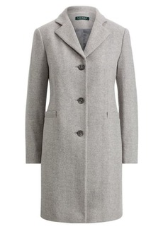 Ralph Lauren Herringbone Car Coat