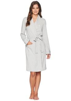 Ralph Lauren Herringbone Double Knit Short Robe
