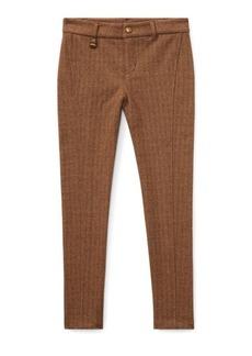 Ralph Lauren Herringbone Skinny Pant