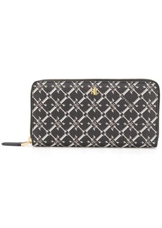 Ralph Lauren all-over logo continental wallet