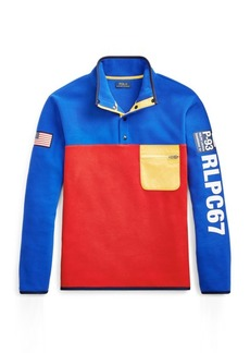 Ralph Lauren Hi Tech Color-Blocked Pullover