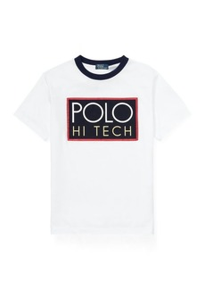 Ralph Lauren Hi Tech Cotton Jersey T-Shirt