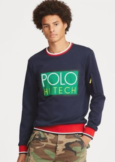 Ralph Lauren Hi Tech Double-Knit Sweatshirt