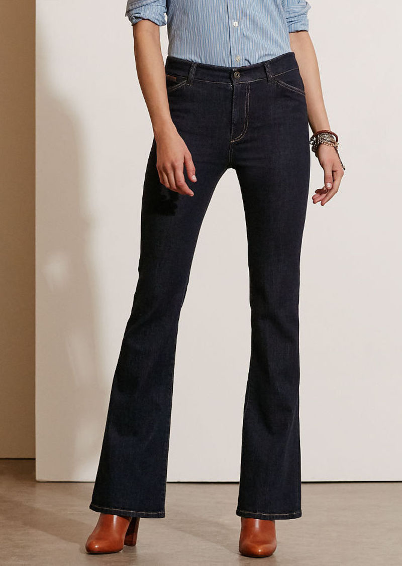 Ralph Lauren High-Rise Flared Jean