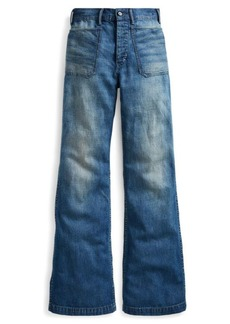 Ralph Lauren High-Rise Flared Jean