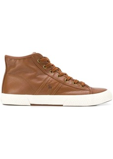 Ralph Lauren high top sneakers