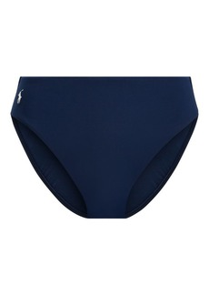 Ralph Lauren High-Waisted Bikini Bottom