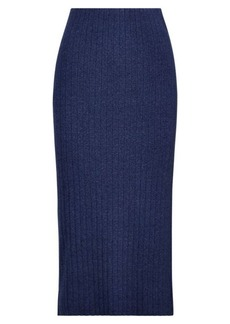 Ralph Lauren High-Waisted Knit Skirt