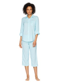 Ralph Lauren His Shirt Capris Pajama Set