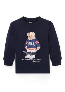 Ralph Lauren Hockey Bear Cotton T-Shirt