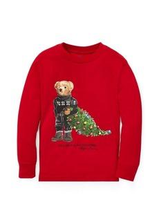 Ralph Lauren Holiday Bear Cotton T-Shirt