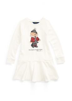 Ralph Lauren Holiday Bear Terry Dress