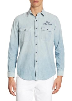 Ralph Lauren Home of the Brave Button-Down Shirt